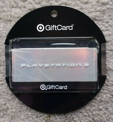 2006 Target Gift Card PLAYSTATION No Value Collectible NOT DAMAGED!