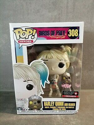 Harley Quinn and Beaver #308 Funko Pop! EMP Exclusive - Birds of Prey - DC