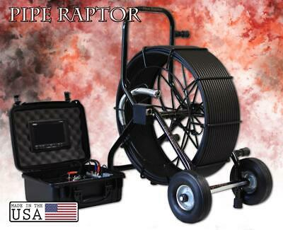 200' Color Sewer Camera Video Pipe Drain Inspection System + WIFI + SD