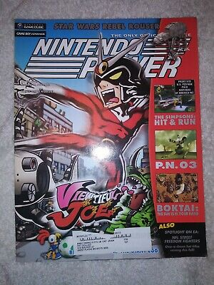Nintendo Power Magazine Vol #172 October  Viewtiful Joe w/Poster Star Wars