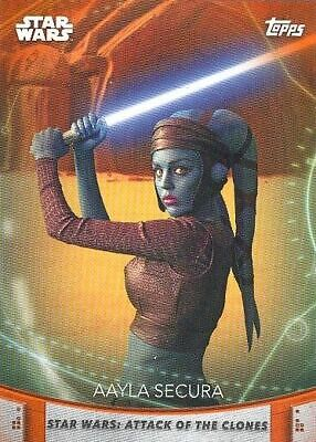 2020 Topps Women Of Star Wars Lot Of 64 Orange Parallel Cards - INCOMPLETE SET!