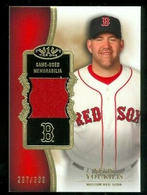 2012 Topps Tier One Relics #KY Kevin Youkilis/399/399 - NM-MT