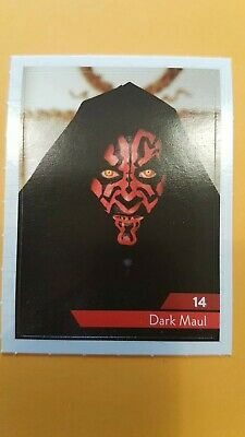 Carte Vignette Star Wars Leclerc 2019 14 Dark Maul