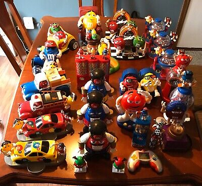 Large Lot M&M Candy Dispensers