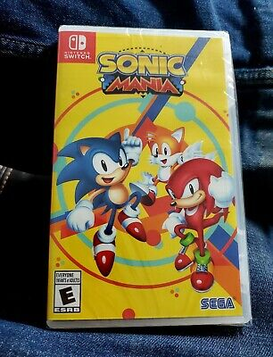 Sonic Mania On Nintendo Switch - Brand New Factory Sealed