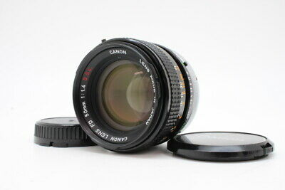 【 MINT 】 CANON FD 50mm F1.4 SSC S.S.C Prime MF Lens From JAPAN