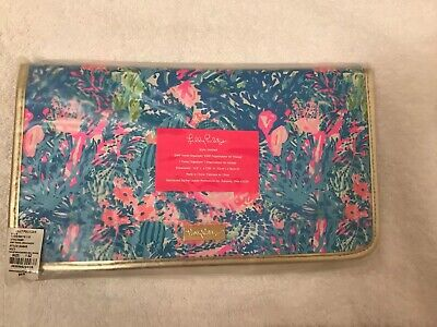NWT GWP Lilly Pulitzer Travel Organizer Fished My Wish Accessories