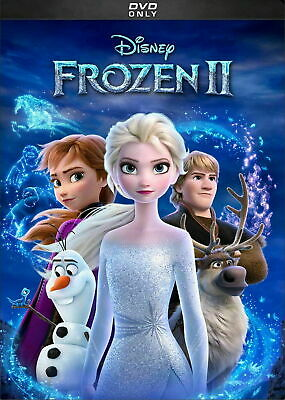 Frozen 2 New Dvd 2019  Shipping Now !