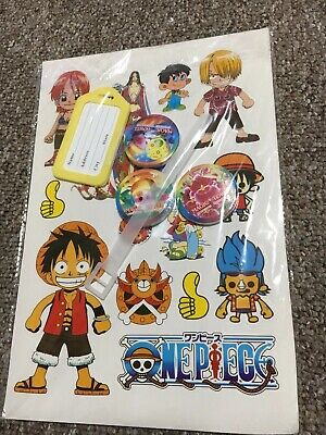 Stickers Set 2 & Magic Compressed Face Towel 2,Mesh Bags 2, Luggage Label Set