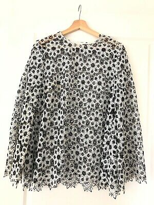 Zimmermann black and white rare top size 2 worn once