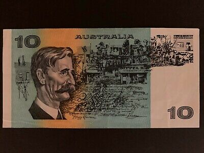 Australian Bank Note $10 Ten Dollar Note