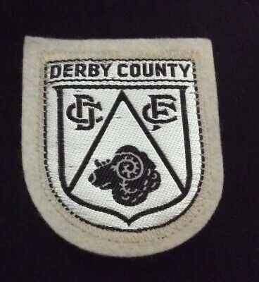 Derby County Fc Badge/Patch Football, Derby County Fc Badge/Patch Football