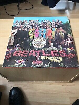 The Beatles Sgt Peppers Lonely Hearts Club Band Mono Pmc7027 Xex.637 & Xex.638