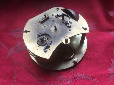 Early French Carriage/alarm Clock Without  Platform Spares Or Repair Bell Rare