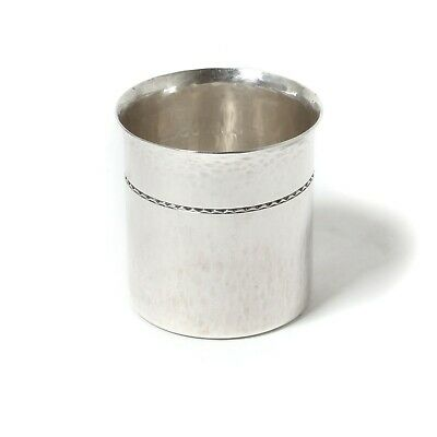 Silver cup (beaker) for whiskey. Sweden, 1971, CG Rastrom