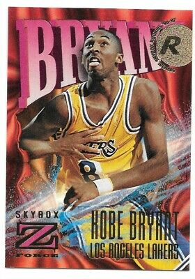 KOBE BRYANT 96-97 Skybox Z Force #142 RC Rookie Card Mint LA Lakers Legend Mamba