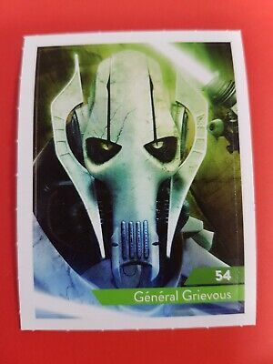 Carte Vignette Star Wars Leclerc 2019 54 General Grievous
