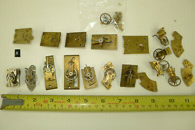 Assorted qualtity of CLOCK PLATFORMS, lever, cylinder etc., for spares & repairs