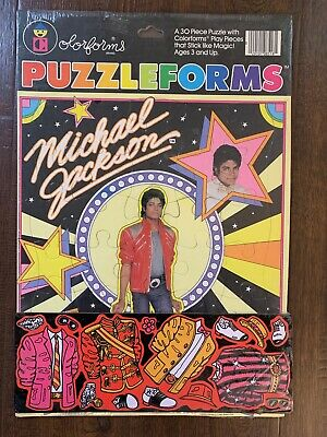 Michael Jackson Puzzleforms by Colorforms FACTORY SEALED