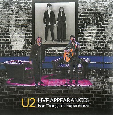 """U2 - Live Appearances For """"Songs Of Experience"""" - Cd+Dvd Digisleeve - Rare"""
