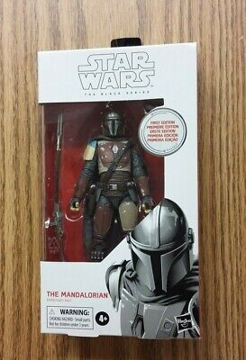 "Star Wars Black Series First Edition The Mandalorian #94 6"" Figure New Read"