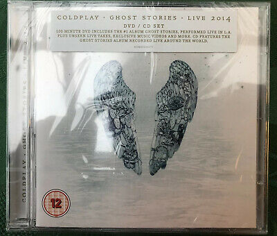 Sealed Coldplay - Ghost Stories Live 2014 - CD+DVD Album - 825646206070 - 2014