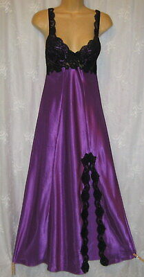 New Small Victoria's Secret Silky Satin Lace U/W Push Up Gown Nightgown