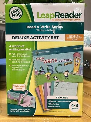 LeapFrog LeapReader Deluxe Writing Workbook: Learn to Write Mr. Pencil Letters