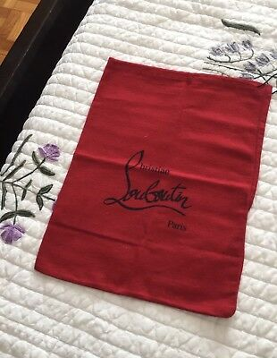 "Cristian  louboutin  Boots Travel Dust Bag 15.5"" / 11 3/4"""