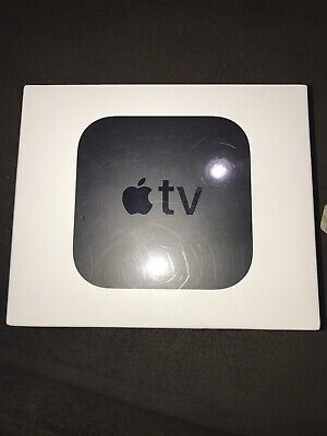 Apple TV (5th Generation) 4K HD Media Streamer (MP7P2LL/A) - Black