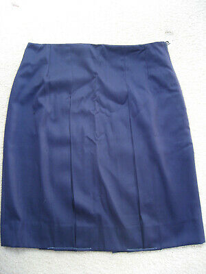 Girls Pleated School Ink Navy Skirt Uniform size 14 New