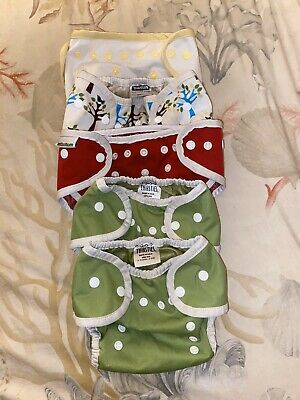 Mixed Lot Cloth Diaper Covers: Thirsties, Best Bottom, Econobum
