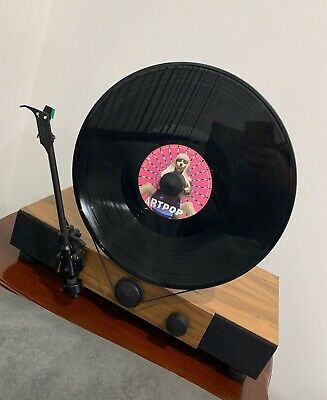 Gramovox Floating Record Vertical Turntable Brand New Sealed Rare -Last One