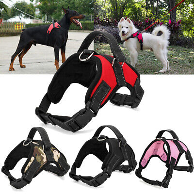 No Pull Dog Pet Harness Adjustable Control Vest Dogs Reflective S M Large XXL US