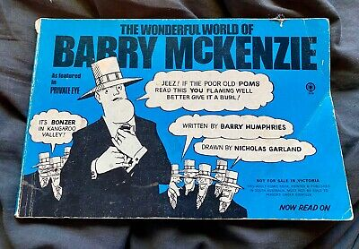 The World of Barry McKenzie - Australian Comic Strip Compilation Book