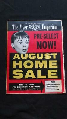 1968 The Myer Emporium Limited August Home Sale Radiograms Transistor Radios Pla