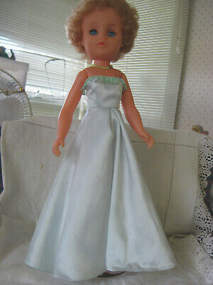 "18"" Shapely Roddy Lady Doll In Gorgeous Long Gown"