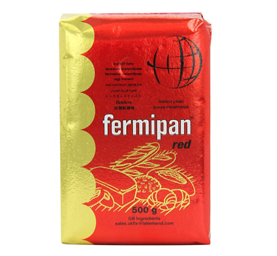 Fermipan Red Instant Dried Yeast Yeest - 500g Bakers Yeast for Baking Bread