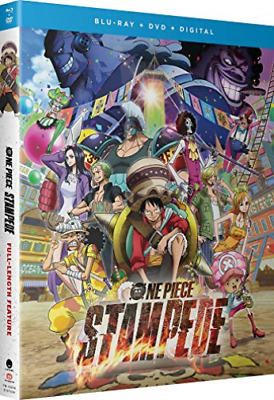 ONE PIECE: STAMPEDE (2PC) (...-ONE PIECE: STAMPEDE (2PC) (W/DVD) / Blu-Ray NUOVO