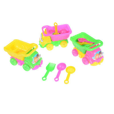 Beach Sand Tools Toys Bucket Set For Toddler Kids Children Outdoor Toy  LUR P0