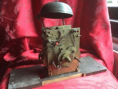 Longcase Grandfather  Clock Movement  For Spares Or Repair