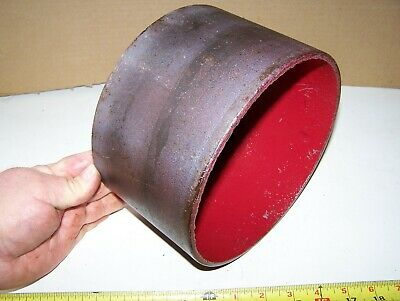 "Old FAIRBANKS MORSE 2hp T H 8"" Cast Iron Belt Pulley Hit Miss Gas Engine Steam"
