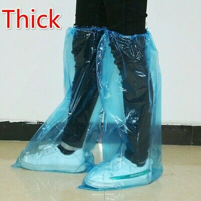 Waterproof Shoes Boot Covers High-Top Disposable Rain Personal Protective