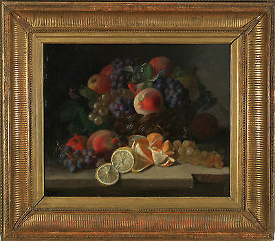 Clement Gontier (Francese 1876-1918) Still Life Originale Pittura a Olio Firmato