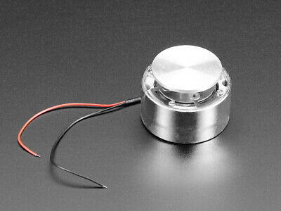 Adafruit Large Surface Transducer with Wires - 4 Ohm 5 Watt 1784