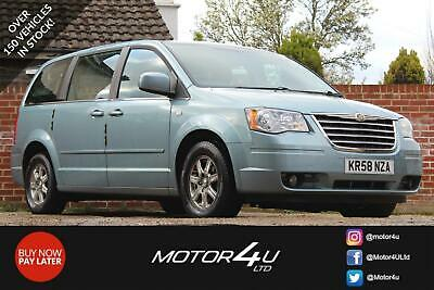 2009 Chrysler Grand Voyager Crd Touring Mpv Diesel