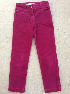 Needlecord trousers, Crew, Age 7 years, hardly worn