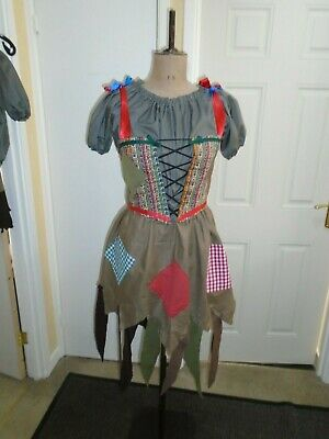 Cinderella rags into the woods dress 35.5 inch bust
