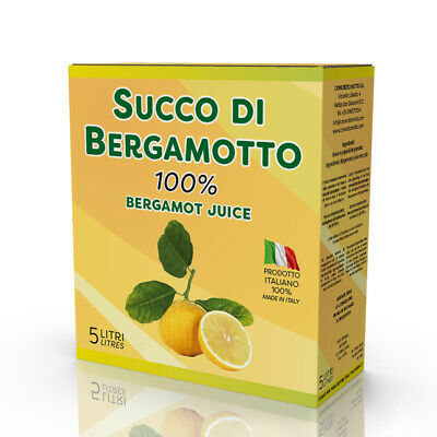 Succo di Bergamotto 100% bag in box 5 Lt