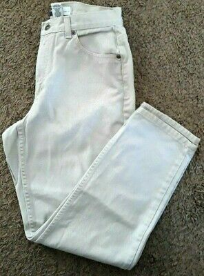 LIZ CLAIBORNE Womens Pants PETITE 8 P8 Khakis CLASSIC FIT zipper fly 100% Cotton